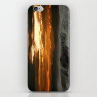 Winter Shorebreak At Sun… iPhone & iPod Skin
