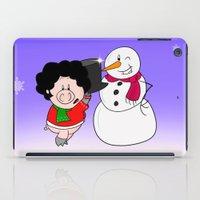 Snowman iPad Case