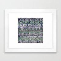 Watercolour Pattern1 Framed Art Print
