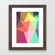 Framed Art Print featuring Peace by Contemporary