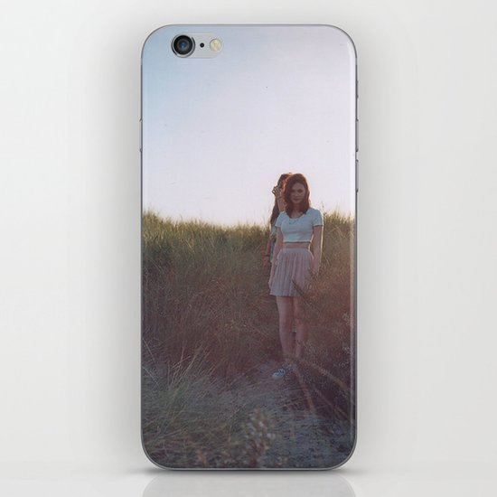 in the grass iPhone & iPod Skin