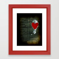 Love Malfunction Framed Art Print