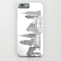 NYC Landmarks By The Dow… iPhone 6 Slim Case