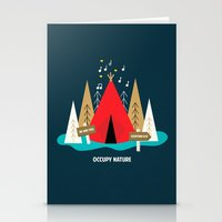We Are The 100%  Stationery Cards