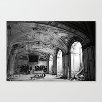 Lee Plaza Canvas Print