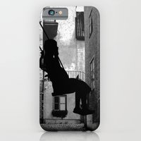 iPhone & iPod Case featuring The swing (thinking) by Anna Brunk