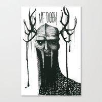 MF DOOMononoke Canvas Print