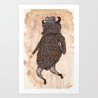 Movin & Groovin' Art Print
