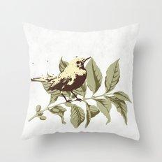the Mokingbird Throw Pillow