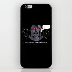 Space Scream iPhone & iPod Skin