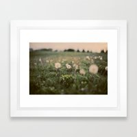 Forgotten Wishes Framed Art Print