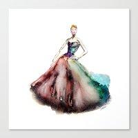 Julianne Moore   Prima B… Canvas Print