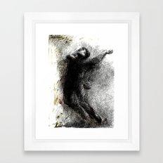 Zusammenfassung eines Krieges Framed Art Print