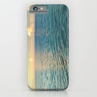 iPhone Cases featuring Calm Horizon by Michael S.