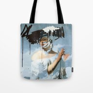 Tote Bag featuring Harmony 5 by Chad Wys