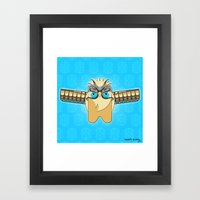 ZENON (the Magical Messe… Framed Art Print
