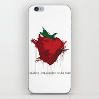 Strawberry Fields Foreve… iPhone & iPod Skin