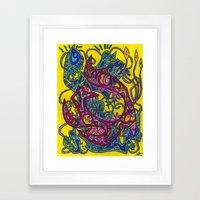 Hexameter Prophecies Framed Art Print