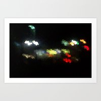 Diamonds on the Streets Art Print