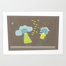 couple Art Print