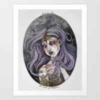 The Birth Of Medusa Art Print