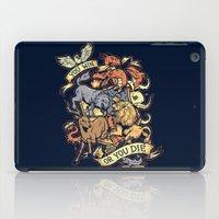 Win Or Die iPad Case