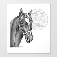 Barney the Hunter: Spirit of the Horse Canvas Print