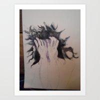 A Spiritual Being Having a Human Experience Art Print