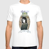 snape Mens Fitted Tee White SMALL