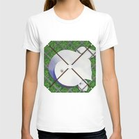 Calla Lilies Womens Fitted Tee White SMALL