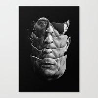 Arnold Schoenberg / Quartet Canvas Print