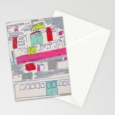 Bright lights City Stationery Cards