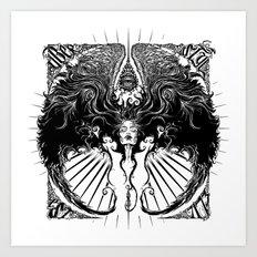 UberWings Art Print