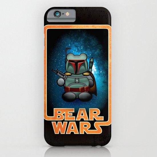Bear Wars - Bobba Furry iPhone & iPod Case