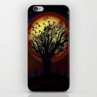 NIGHT FLOCK - 020 iPhone & iPod Skin
