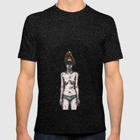 Tumor Face Mens Fitted Tee Tri-Black SMALL
