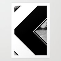 Chevrons Art Print