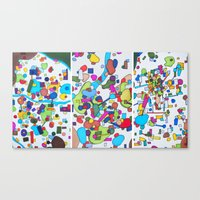 Sister Cities Canvas Print