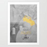 JULES Et JIM Alternative… Art Print