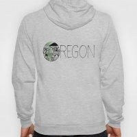 Oregon Mushroom Design Hoody