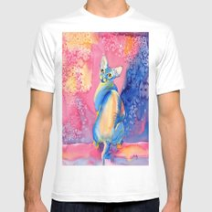 Sphynx Cat 3 Mens Fitted Tee SMALL White