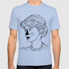 KATE (Kingston Falls 1984) Mens Fitted Tee Tri-Blue SMALL