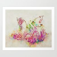 Untitled Melodies Art Print