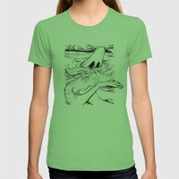 Breathe Womens Fitted Tee Grass SMALL