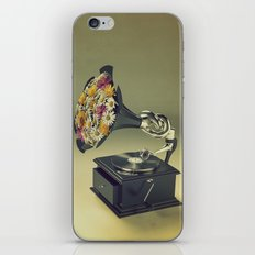 put some flowers in your guns iPhone & iPod Skin