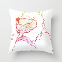 Bear Color Throw Pillow