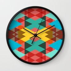 Geometric Crazy 3D Wall Clock