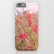 field of poppies iPhone 6 Slim Case
