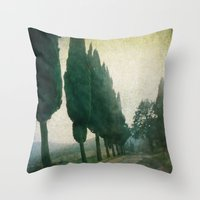 Toscana Vintage I Throw Pillow