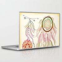dream catcher Laptop & iPad Skins featuring Dream Catcher by famenxt